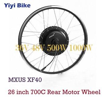 MXUS-Motor de Bicicleta eléctrica sin escobillas, Motor de cubo de 36V y...