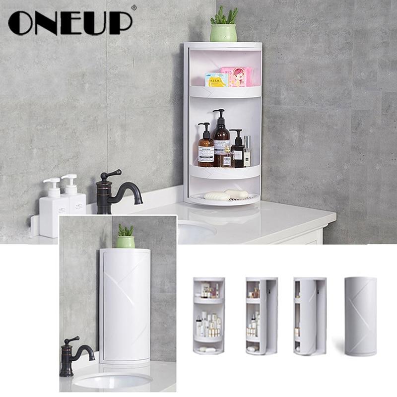 Onills Fashion 360 degrés rotatif maquillage organisateur boîte porte-brosse bijoux organisateur Case salle de bains maquillage cosmétique boîte de rangement
