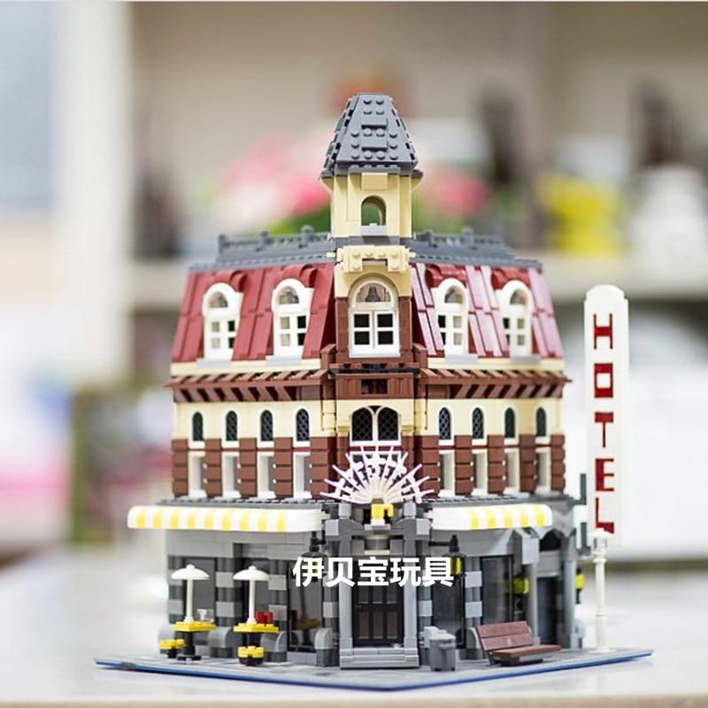 15002 2133PCS Creator Expert Make Create Cafe Corner Model Building Blocks Toys Bricks Compatible With 10182