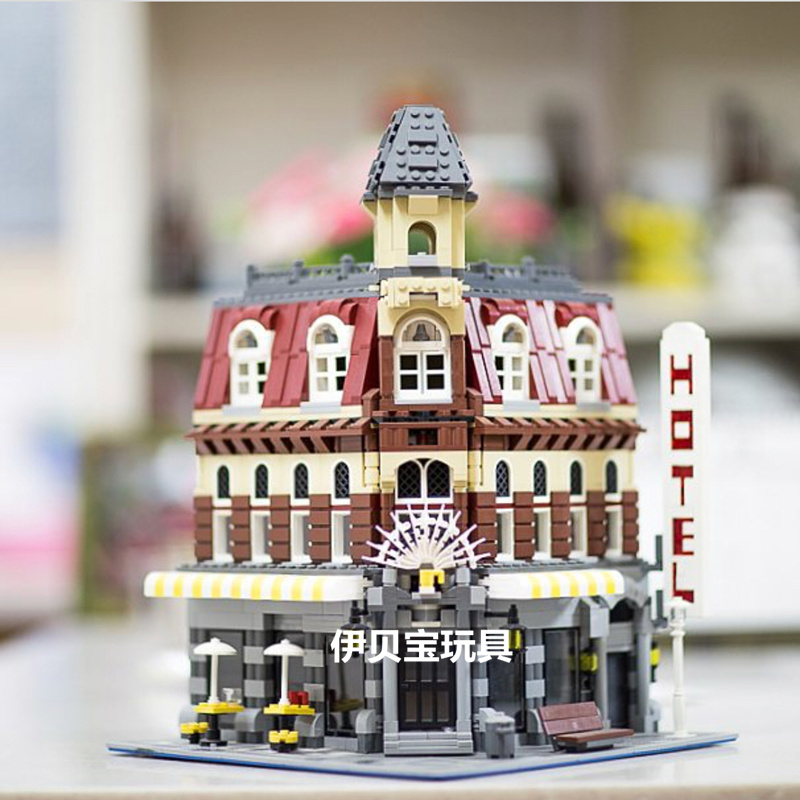 15002 2133PCS Creator Expert Make & Create Cafe Corner Model Building Blocks Toys Bricks Compatible With 1018215002 2133PCS Creator Expert Make & Create Cafe Corner Model Building Blocks Toys Bricks Compatible With 10182