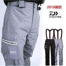 2017 NEW DAIWA Fishing pants Two-piece suit waterproof Keep warm Plus velvet Autumn And Winter DAWA Liner DAIWAS Free shipping