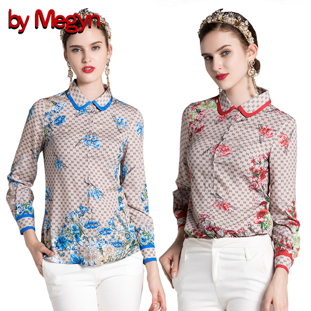 5f8d17a88f272 by Megyn women blouses 2018 new fashion women long sleeve elegant floral  print shirts blouses plus size xxxl blouse femininas