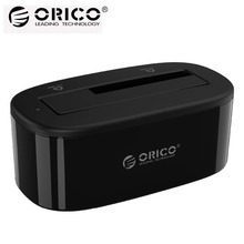ORICO 6218US3 External  HDD Docking Station 5Gbps USB 3.0 to SATA HDD Case Support UASP for 2.5/3.5 inch HDD/SSD 8TB