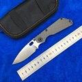 LEMIFSHE SMG складной нож D2 лезвие из титана Nudist/ямы/CF ручка медная шайба кухня на открытом воздухе охотничьи утилиты Ножи EDC
