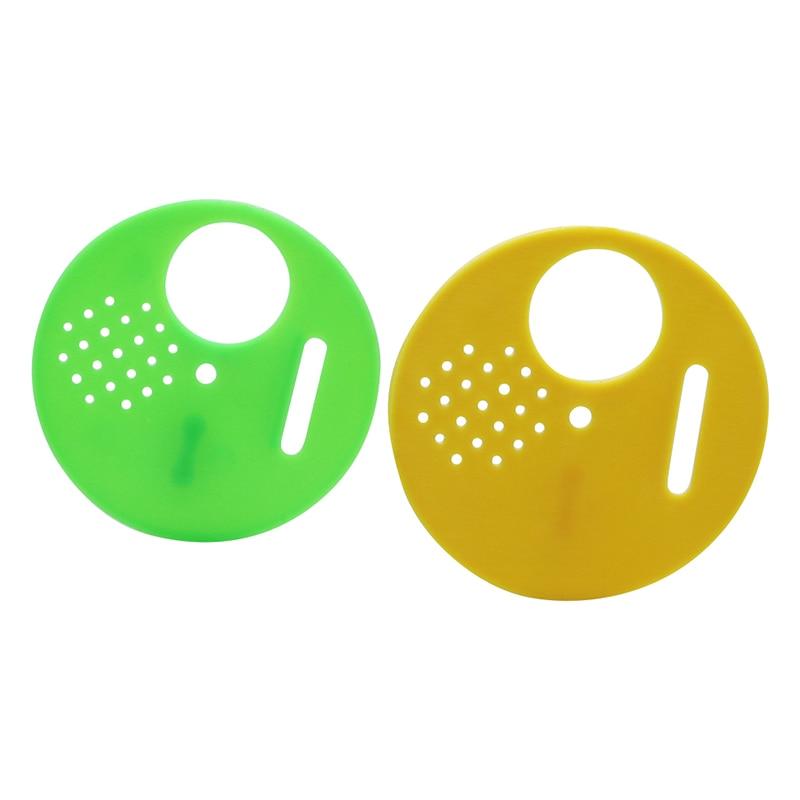 Plastic Hive Door Apiculture Round Beekeeping Box Honeycombs Flow Hive Equipment for Beekeeping Beekeeper 100 Pcs