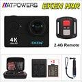 "2016 Brand 4K WiFi Action camera with 2.4G Remote Control Ultra HD 2.0"" 170D Helmet Cam go waterproof pro camera H9 EKEN H9R"