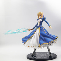 Super Big 16 Fate Grand Order Anime Saber Altria Pendragon 1/4 Scale Boxed 41cm PVC Action Figure Model Doll Toys Gift