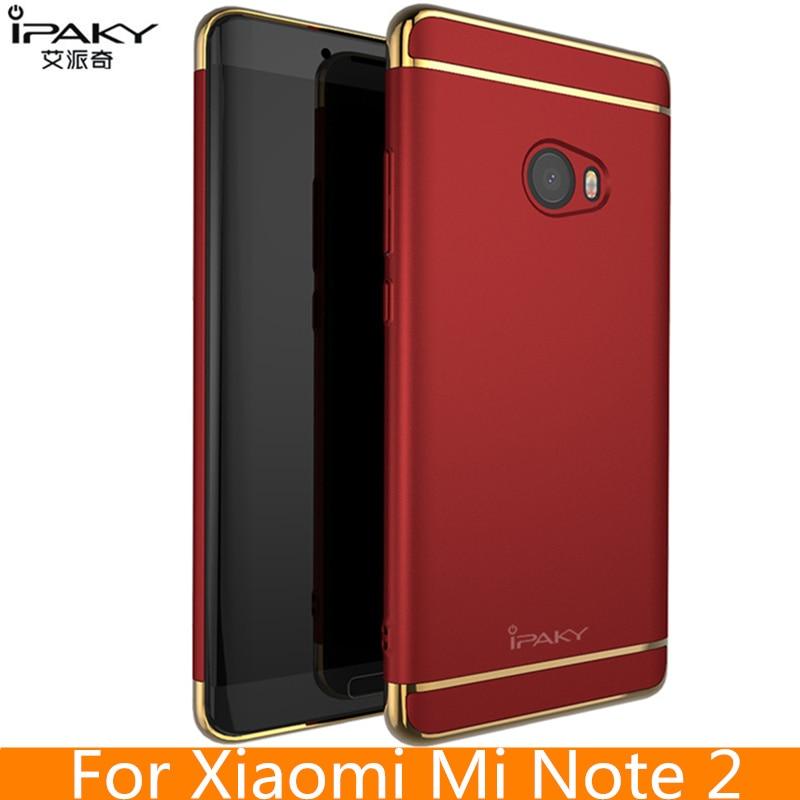 για θήκη Xiaomi Mi Note 2 Γνήσια προστατευτική κάλυψη μάρκας iPaky για Xiaomi Mi Σημείωση 2 Καρφάκια ασφαλείας Σημείωση 2 Περίπτωση