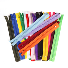 10Pcs/lot 20cm Length Colorful Nylon Coil Zippers Tailor for Trousers Clothing Garment Home DIY Sewing Handcraft Clothing Acces
