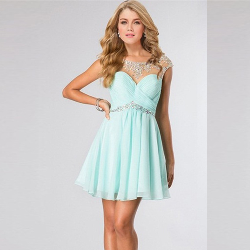 High Quality Green Short Prom Dresses-Buy Cheap Green Short Prom ...