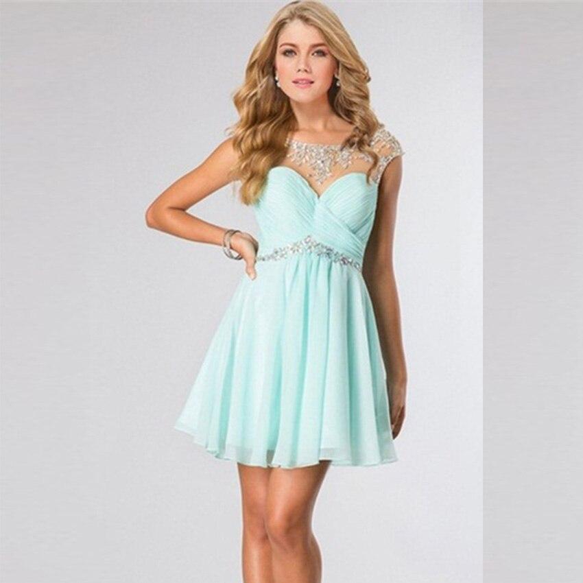 Popular Short Green Prom Dresses-Buy Cheap Short Green Prom ...