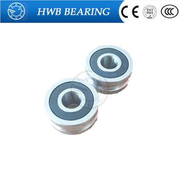 10pcs Free Shipping 12 MM track LFR5201-12 NPP LFR5201  R5201-12 2RS Groove Track Roller Bearings 12*35*15.9 mm