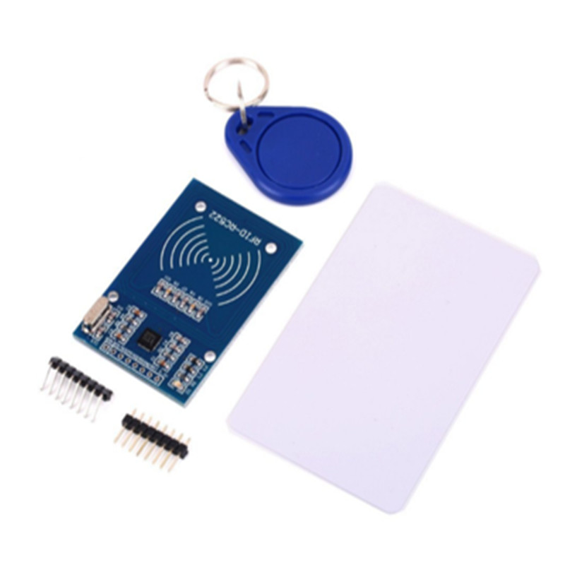 1pcs MFRC-522 RC522 RFID RF IC card sensor module to send S50 Fudan card, keychain for arduino real cowhide genuine leather backpack women s bag vintage designer girls travel school bags famous brand female laptop rucksack