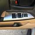 3D Interior Interruptor de Elevador Janela Do Carro Styling Trims Para Toyota Land Cruiser 200 V8 LC 200 Acessórios 2016