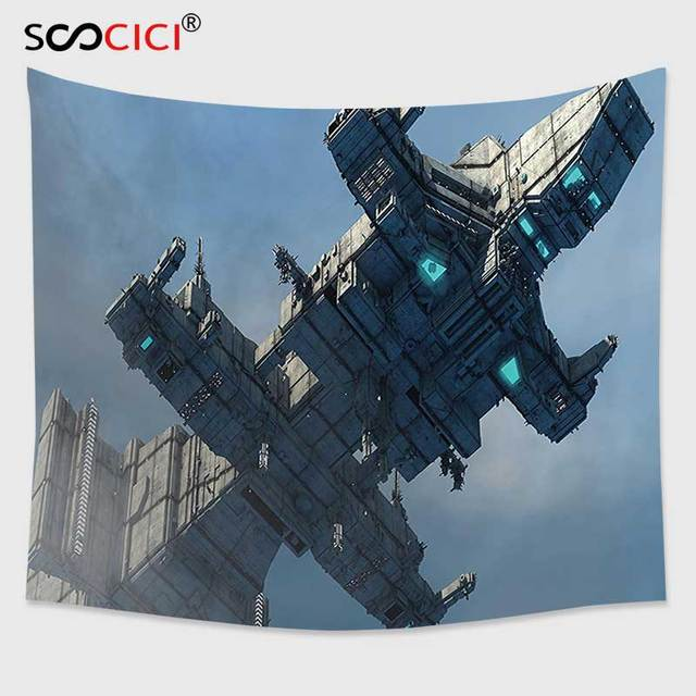Cutom Tapestry Wall Hangingouter Space Decor Photo Of Huge Military