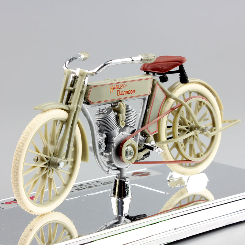 1:18 Maisto Kids 1909 TWIN 5D V-TWIN Bicycle Bike Antique Mini Vintage Diecast Model Motorcycle Collection Toys For Kids