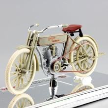 1:18 Maisto çocuklar 1909 e N e n e n e n e n e n e n e n e n e 5D V TWIN bisiklet bisiklet antika mini vintage Diecast model motosiklet koleksiyonu oyuncaklar çocuklar için