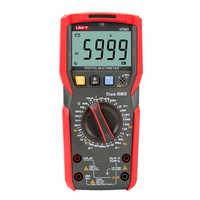 Multimètre numérique-mètre numérique UT89X/UT89XD, véritable testeur RMS, voltmètre AC DC, testeur de fréquence de capacité,