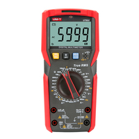 UNI-T ut89x/ut89xd multímetro digital verdadeiro rms tester ac dc voltímetro amperímetro ohmmeter capacitância frequência led ncv temp teste