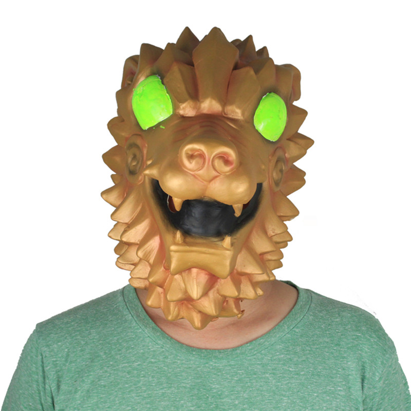 Game Fort Battle Royal Battle Hound Mask Adult Animal Dragon Hood Masque Halloween Party Props DropShipping