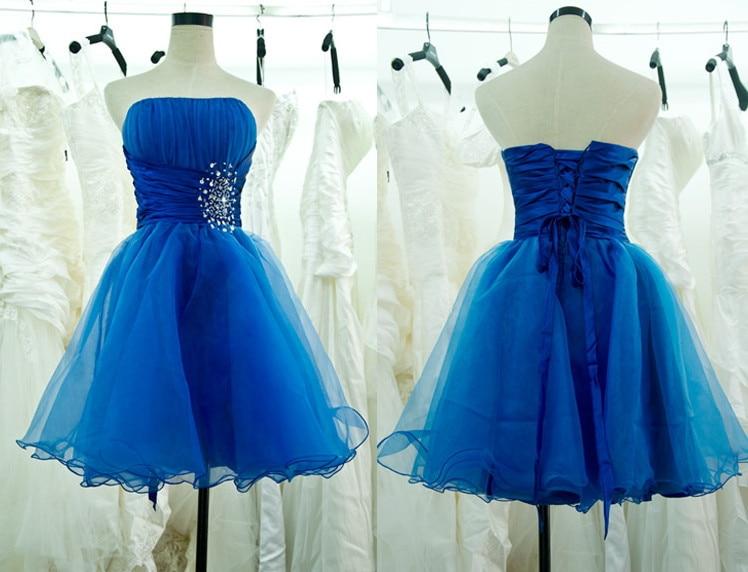 Vestidos color azul rey para salida de sexto