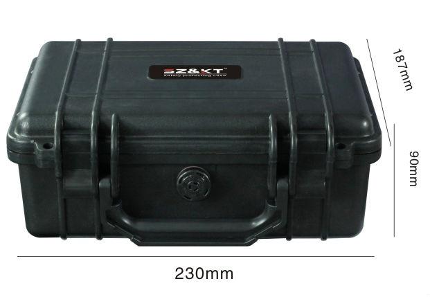 Caixa de Segurança de Plástico Caixas de Equipamento Câmera de Caixa de Proteção à Prova Água à Prova de Choque Caixa do Instrumento Fotográfico d'