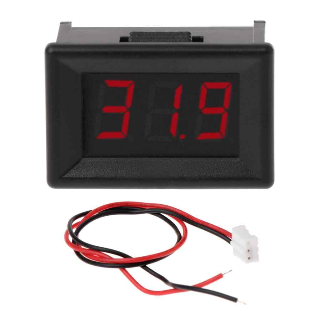 "DC 2.4 V-30 V 2 Draden Voltmeter Mini 0.36 ""Digitale Voltage Gauge Meter voor Auto"