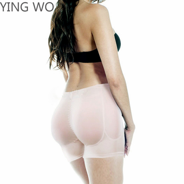 b5d380f8e6510 Padded Buttocks And Sides Butt Lifter Panty Plus Size Women Firm Control Shapewear  Lift Hip Up Boyshorts Booty Enhancer 4XL 3XL