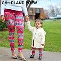 Nuevo invierno ropa de moda madre e hija madre hija leggings navidad outfit coincidencia de la familia de madre e hija ropa
