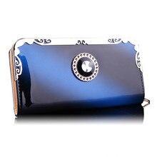 Luxury Leather Women Wallets Fashion Fold Long Design Women's Wallet Clutch Female Lady Purse  Hand Bags GC07 Free Shipping