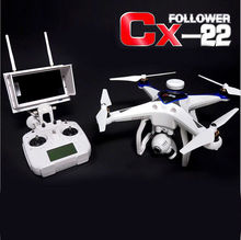 Cheerson CX-22 2.4GHZ 6 Axis 5.8G FPV RC Helicopter Drone In Dual GPS Track With HD Camera Professional Quadcopter VS TALI H500