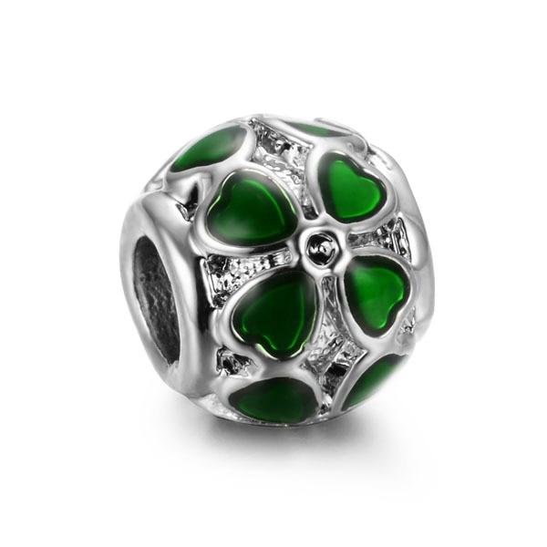 pandora charm verde