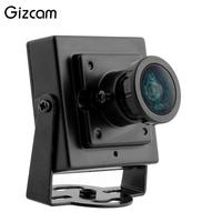 Gizcam FPV Mini Digital Vedio Camera HD 700TVL Mini Camcorder for Aerial Photography Black Wide Angle