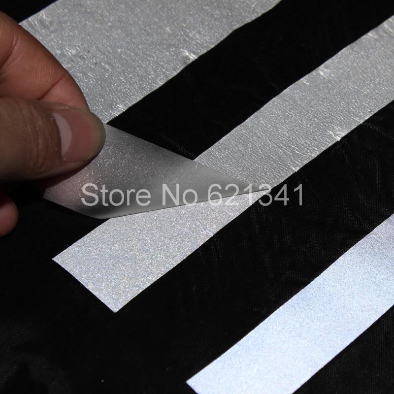 10mm 10m Silver Reflective Fabric Tape Heat Transfer Film Iron On In Diy Craft Supplies From Home Garden Aliexpress Alibaba Group