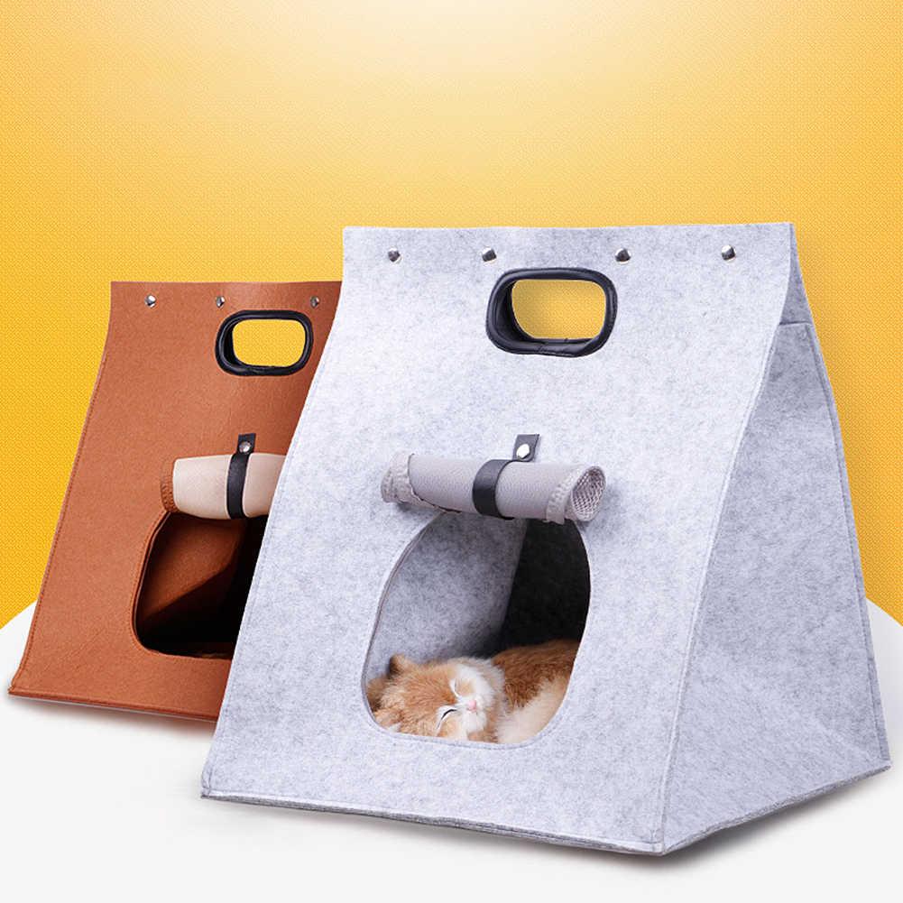 2019 милый ручной мешок Pet гнездо для небольшого животного, питомца кролик домик хомяка кровать на открытом воздухе домик клетка-Гнездо Аксессуар для хомяка
