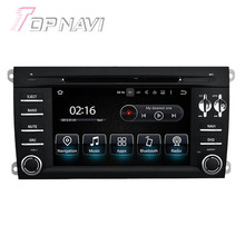 7 de polegada Quad Core Android 5.1.1 Radio Stereo Car Video Player Para Porsche Cayenne (2003-2010) com Multimídia DVD GPS Estéreo