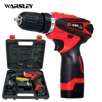 16 8V Screwdriver Batteries Drill Mini Drill Double Speed Lithium Electric Drill Power Tools Cordless Electric