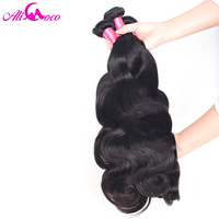Indian Body Wave Hair Weaving 100 Human Hair 10 28 Inch Non Remy Hair Free Shipping