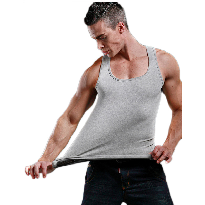 Summer Men Clothing Tank Tops Man Undershirts Casual Fitness Bodybuilding Vest Tops Sous Vetement Homme