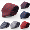 New Design Brand Mens Ties silk jacquard weave Dot Necktie 7cm corbatas hombre 2016 Gravata Classic Fashion Business Tie For Men