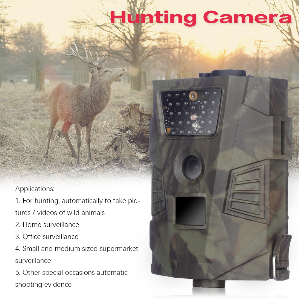 Waterproof Trail Hunting Camera HT001 Wild Hunter Cam Game Wildlife Forest Animal Cameras Trap Tracking Scouting