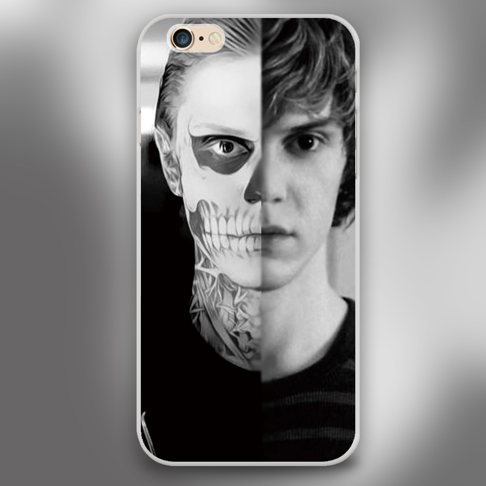 evan peters doule face life Design case cover cell phone cases for Apple iphone 4 4s 5 5c 5s 6 6s 6plus hard shell