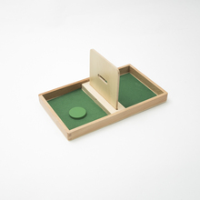 Bandeja de madera – Material Montessori