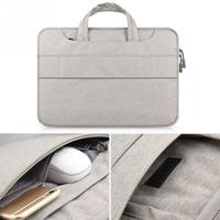 Macbook air/pro/retina için ucuz laptop kol hissettim su geçirmez kılıf koruyucu kabuk dizüstü 11 13 14 15 inç comput çantası 13.3