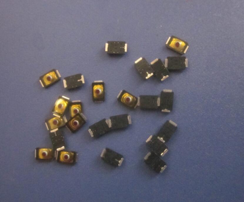 2*3*0,6 мм 2x3x0,6 мм Тактильный кнопочный переключатель тактичности 4-контактный Микровыключатель SMD мини Тонкий тонкая пленка ключ 2x3 светильник сенсорный переключатель для поверхностного монтажа