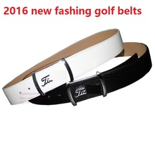 2016 golf strap embossed cowhide male fashion belt clothing suit for jackets