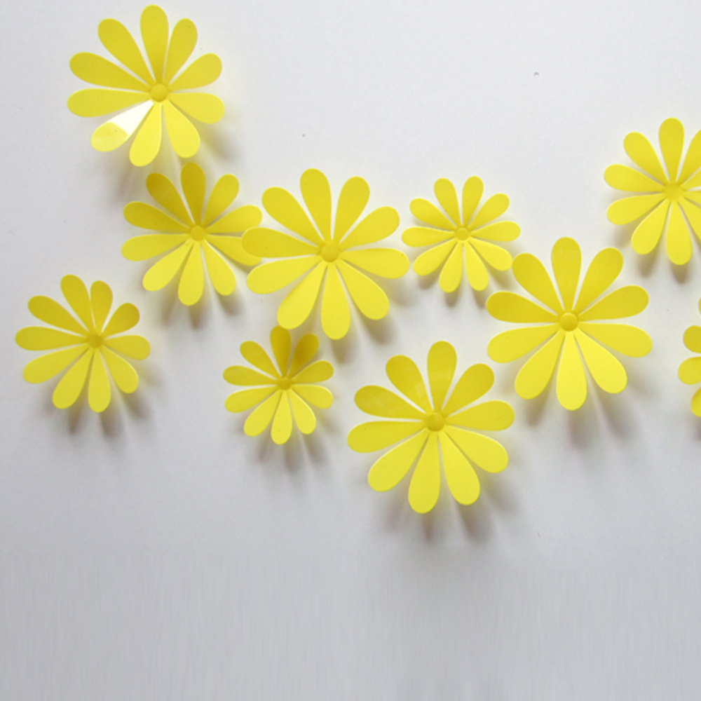 Modern Diy Flower Wall Art Ensign - Art & Wall Decor - hecatalog.info