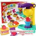 Ferramenta de gelo de brinquedos fazer mutilcolor de gelo molde ABS não tóxico não estimular para crianças Pretend Play