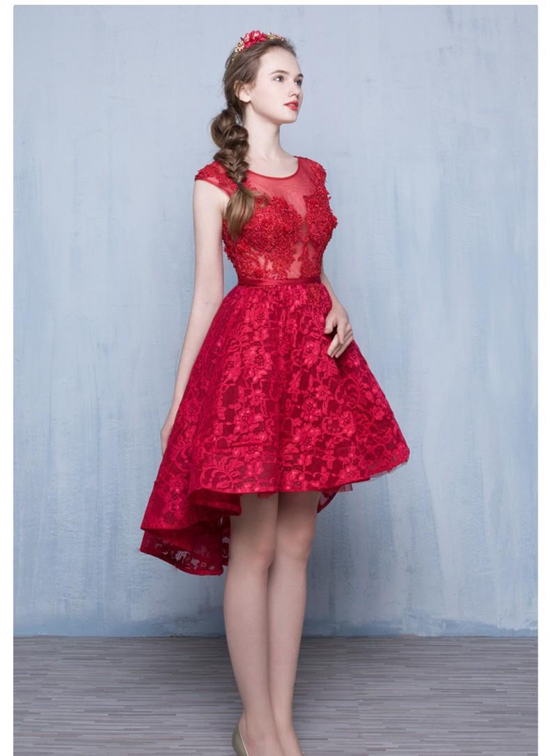 2016-Vinho-Tinto-Moda-Rendas-Sem-Mangas-Um-lin-Vestido-de-Cocktail-Curto-Da-Noiva-Vestido (3)