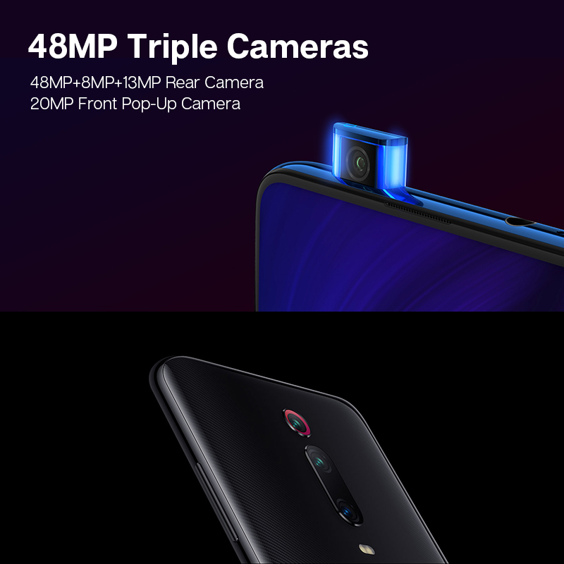 Image 5 - Global Version Xiaomi MI 9T 9 T Redmi K20 6GB 128GB Snapdragon 730 Octa Core Smartphone 6.39''AMOLED Display 48MP Cameras NFC-in Cellphones from Cellphones & Telecommunications